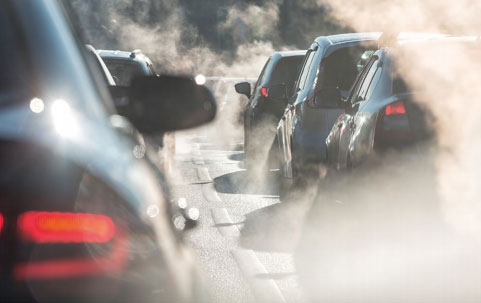 Emissions from vehicles are a worry. Pictured by LANA ELCOVA – SHUTTERSTOCK